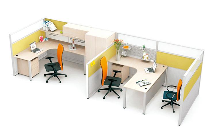 办公桌与办公屏风的区别